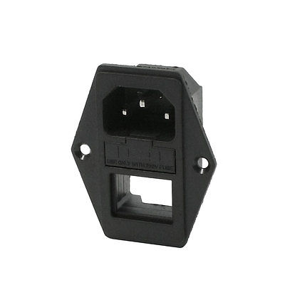 Fuse Holder Male Power Plug 40mm Mounting Hole Distance 10A AC250V vehicle automotive blade fuse holder with a line of high quality waterproof fuse holder
