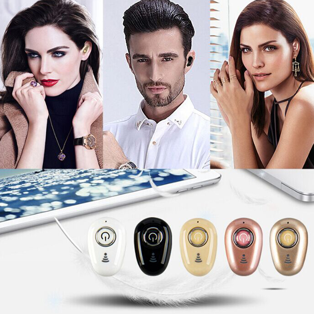 S650 Mini Bluetooth Earphones Wireless Headphones Headset wint Mic Earbuds for xiaomi iphone huawei (4)