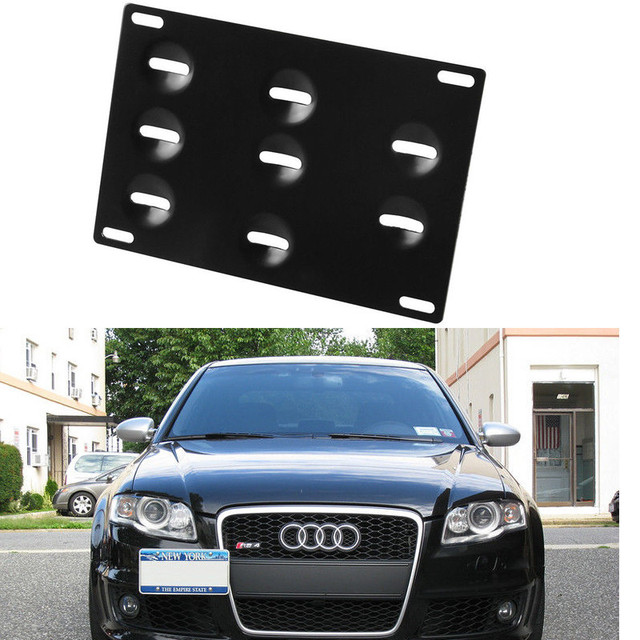 Бампер Фаркоп Номерного знака Кронштейн Держатель Для Audi A1 A3 A4 A4L A5 Q3 Q5 Q7 A7