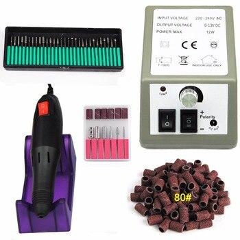 20000 RPM Fresagem Cortador De Manicure Bits Prego Broca Elétrica Dispositivo de Ferramentas Da Arte do Prego Manicure Máquina da Broca Do Prego Para Manicure