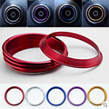 modified air-conditioning outlet bright ring a variety of colors for Audi A3 2013 2014 2016 hatchback sedan car accessories