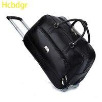 Hcbdgr2019 Новая роскошная атмосфера большая Вместительная дорожная сумка с колесиками с чемодан на колесиках и чемоданом Maletas Y Bolsas De Viaje