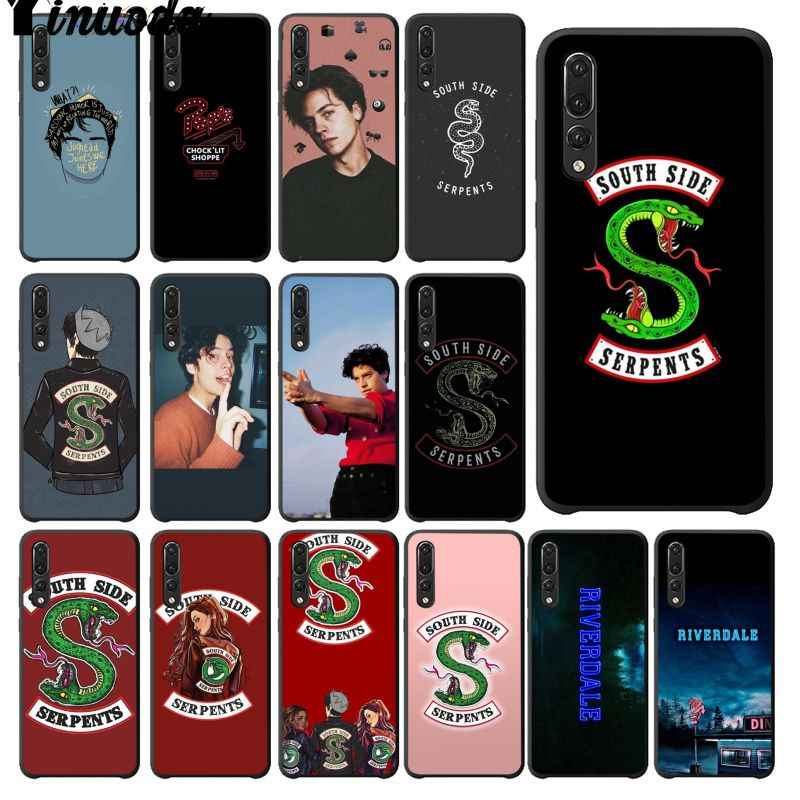 Yinuoda Riverdale South Side Serpents Colorful Phone Case for Huawei Mate10 Lite P20 Pro P9 P10 Plus Mate9 10 Honor 10 View 10