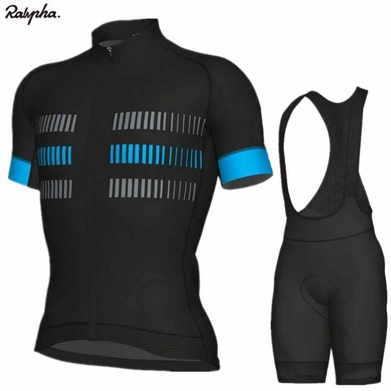 Aleing Lengan Pendek Musim Panas MTB Sepeda Pakaian Bersepeda Bib Celana Pendek Set Outdoor Bersepeda Jersey Kit Pabrik Penjualan Langsung Ropa Ciclismo