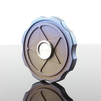 Best Quality Metal Titanium Hands Finger Widget Fidget Spinners Anti Stress Spiner Top Spinning Edc Fun