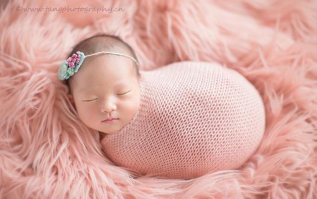 75*100cm Newborn photography props Baby blanket backdrops for photography faux fur basket filler stuffer fotografia newborn prop