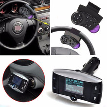 Cyber Monday 2017  Clearance Dependable Fashion Wireless LCD Bluetooth 3.0 Car Kit MP3 FM Transmitter USB Charger Handsfree Ma12