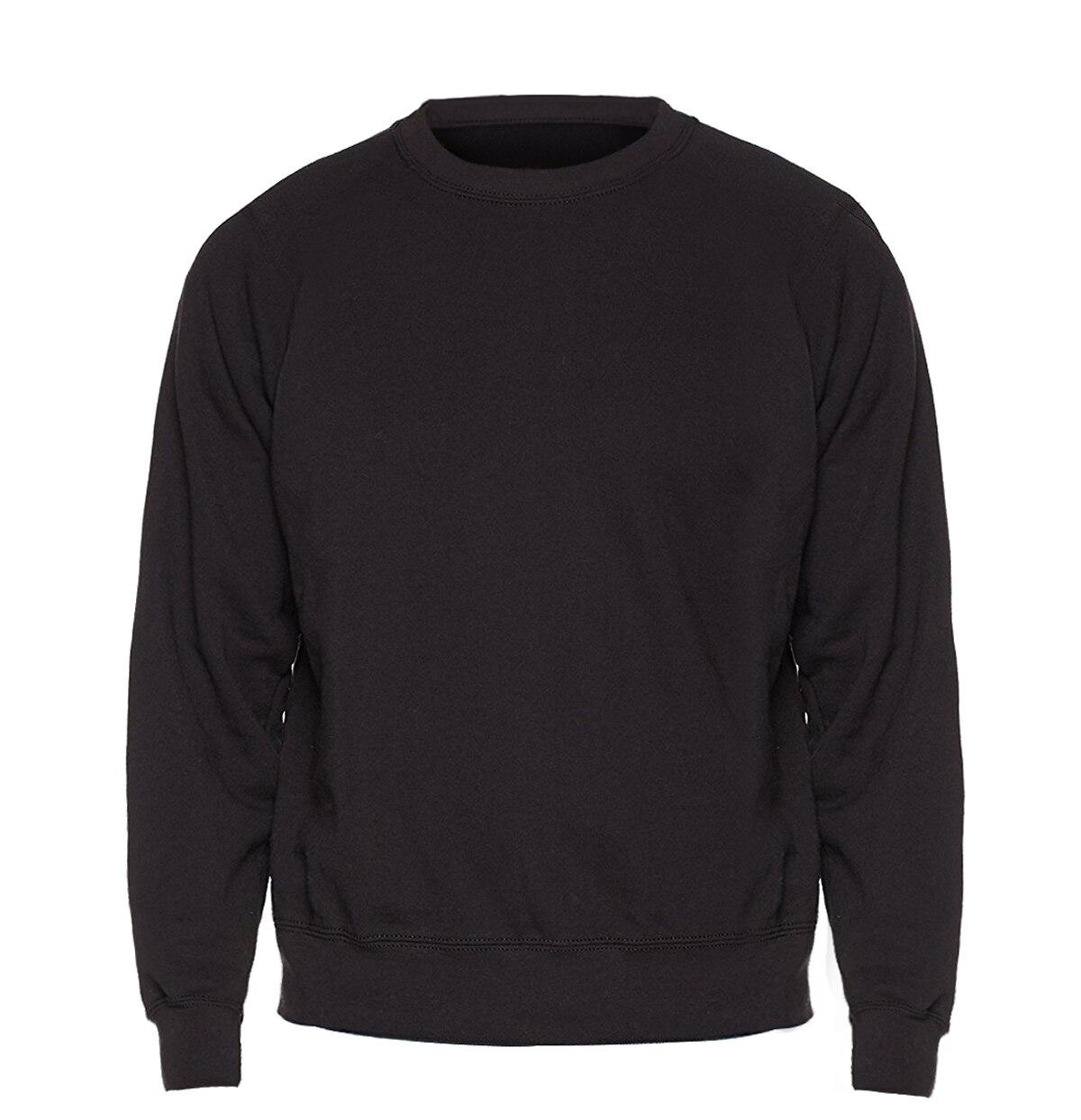 Solid color Sweatshirt Men Hoodie Crewneck Sweatshirts Winter Autumn Fleece Hoody Casual Gray Blue Red Black White Streetwear 19