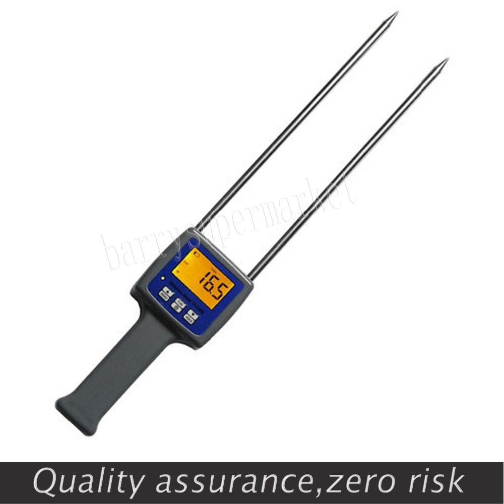 TK100W  grain moisture meter digital hygrometer Wood Sawdust Powder Hay Bale Peat Moisture Meter hygrometer humidity Meter  цены
