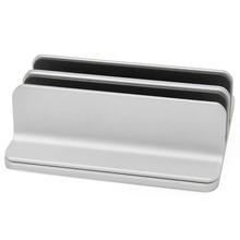 Подставка с двойным слотом регулируемая толщина алюминиевый держатель для ноутбука двойная космическая подставка настольная подставка для ноутбука вертикальная для Macbook Su
