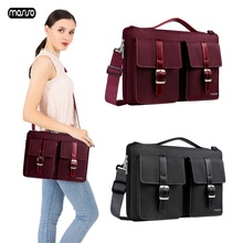 MOSISO Laptop Shoulder Bag 13.3 15.6 Inch Waterproof Notebook Bag for Macbook Air Pro 13 15 Computer Handbag Messenger Briefcase fashion wool felt women tote bag laptop bag for macbook touchbag pro 13 15 inch briefcase notebook messenger bag ladies handbag