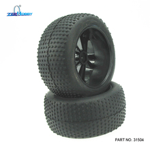SUPERCAR HOBBY RC CAR 1/10 Electronic Power Off Road Truggy Original Spare Part Tires And Wheels Item No.31504