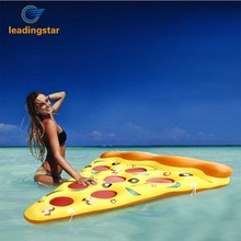 Leadingstar Giant Inflatable Pizza Slice Float Jumbo Swimming Pool Raft with Cup Holders Toy for Childrens and Adults zk30