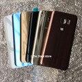 1 ШТ. Оригинал Для Samsung Galaxy S7 Edge G935 G935F Заднее Стекло Крышка Батарейного Отсека Замена Розовый/Синий/Черный/Белый/Серебристый