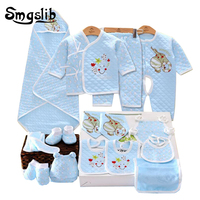 13PCS Infant Clothing Long Sleeves Newborn Baby Boy Clothes Suit Wear Spring Autumn Casual 100 Cotton