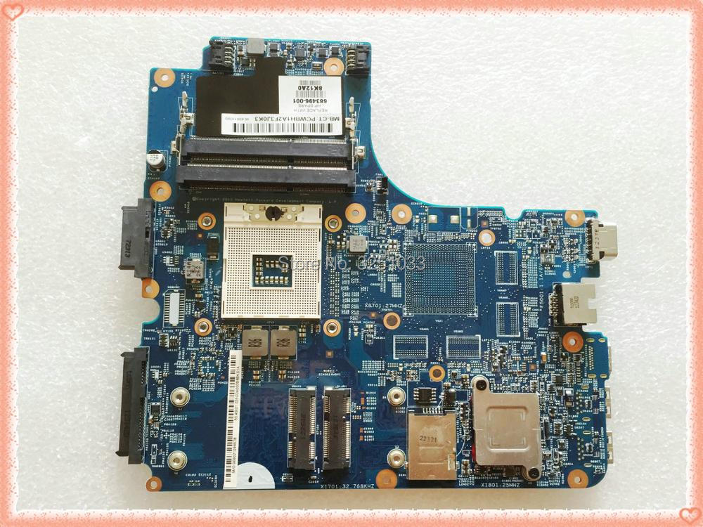FOR HP ProBook 4440s 4441S Notebook 683495-001 683496-001 HM76 for hp ProBook 4540S 4440S 4441s laptop Motherboard 683495-501 все цены