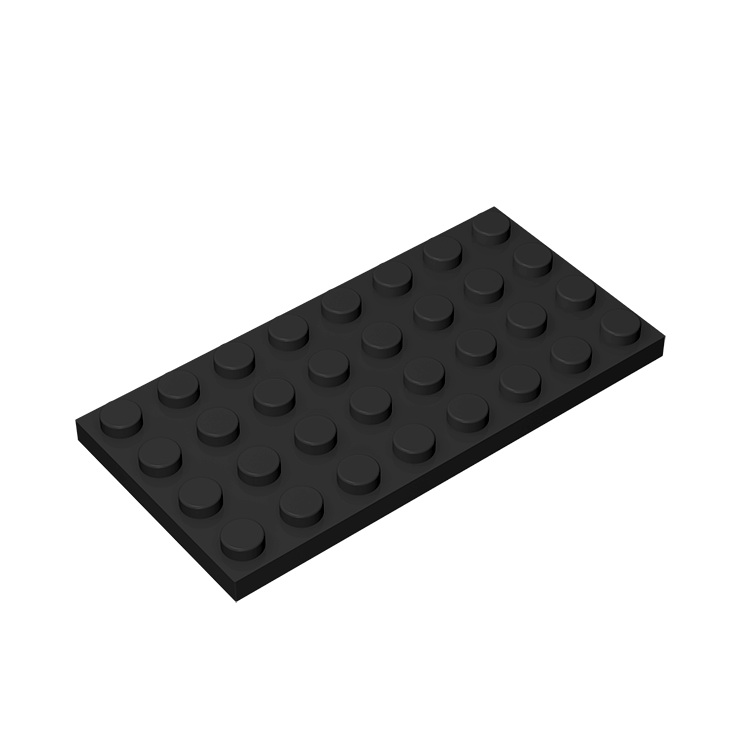 BuildMOC Compatible Assembles Particles 3035 4x8 For Building Blocks Parts DIY LOGO Educational Bricks Toys For Children DIY