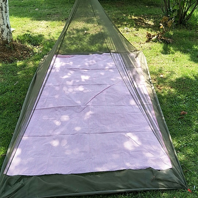 Outdoor Mosquito Net C& Pyramid Backpacking Yard Screen Tent Netting Garden Shelters Survival Tool tent & Outdoor Mosquito Net Camp Pyramid Backpacking Yard Screen Tent ...