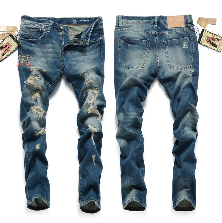 2014 ripped dsq jeans men brand destroyed jeans for men