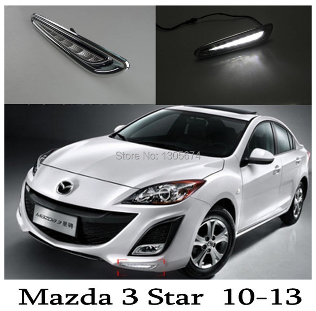 Unimaginable Price  Mazda 3 Star Import LED DRL,LED Daytime Running Light Free Shipping