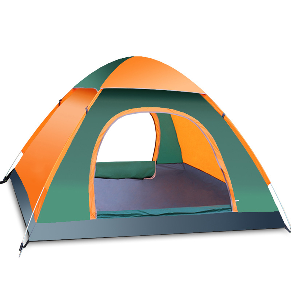 Outdoor Pop Up Camping Tent Automatic 2-4 Person Portable Hiking Pack Waterproof Backpacking Tents ZT9-114 1pcs urinal gogirl go girl woman urination device 9 5cm stand up pee fud camping travel portable female tiolet