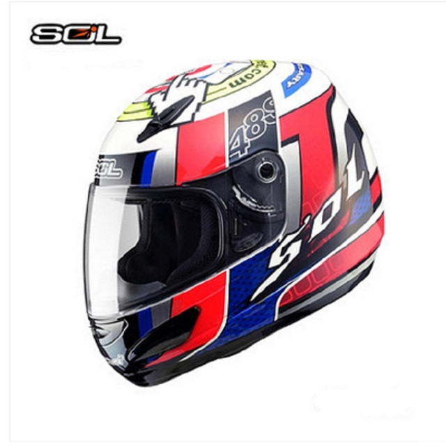 SOL 48S 10th full face motorcycle helmet CNS and DOT certified anti ...