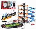 Multi-capa de montaje juguete Vía Del Tren Eléctrico Coches en la radio Juguetes Thomas Tren de juguete Tren Eléctrico Thomas Envío gratis
