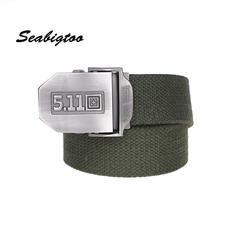 Seabigtoo 511 tactical Canvas Belts for