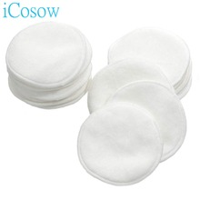 iCosow 300 Pcs Make Up Cotton Pads Wipe Pads Nail Art Polish Cleaning Pads Facial Cosmetic Cotton Makeup Remover Clean Tool icosow 300 pcs make up cotton pads wipe pads nail art polish cleaning pads facial cosmetic cotton makeup remover clean tool