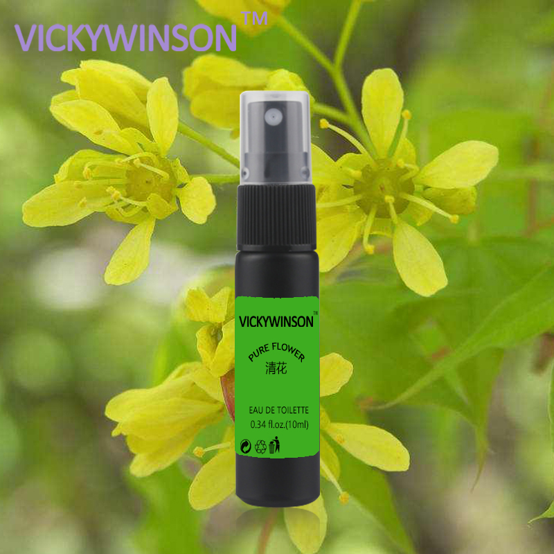 VICKYWINSON Pure Flower Deodorization 10ml Body Odor Clean Water Underarm Antiperspirants Remove Deodorants Spray