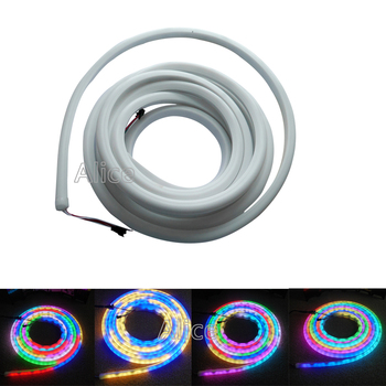 High quality 5m/Roll 30/60led/m WS2811 WS2812B SK6822 flex neon digital RGB dream color LED pixel light