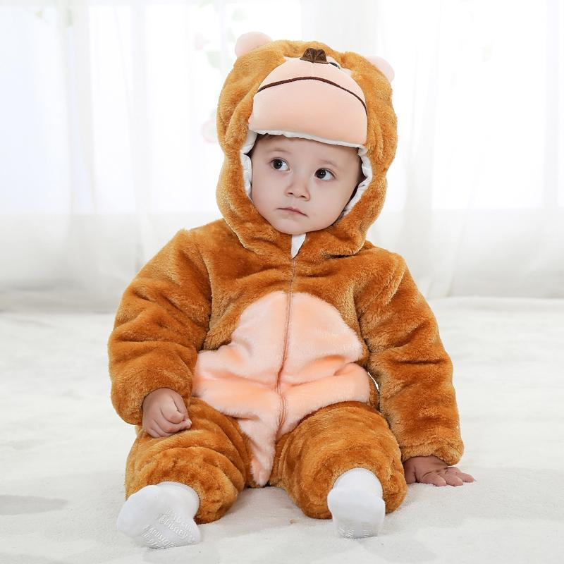 Animal Baby Romper Girl Christmas Clothes Baby Winter Romper 12 Months Unisex 1 & 2 Years Old Baby Clothes RL11 23|baby rompers|baby winter romper|winter rompers -
