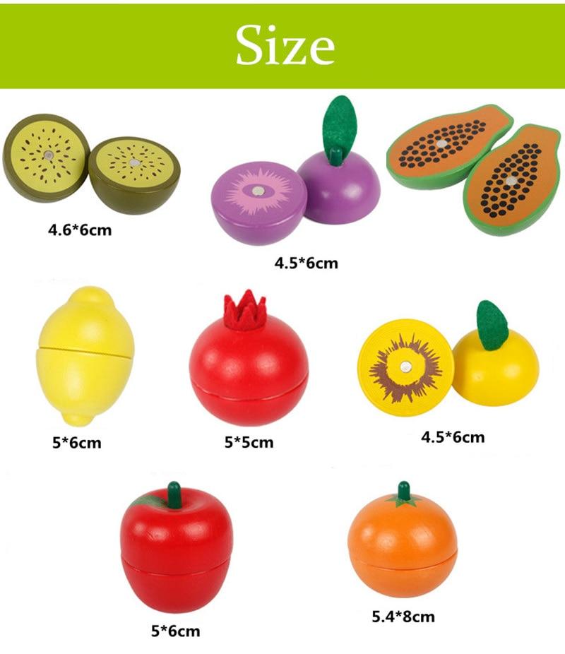 jogar brinquedos de cozinha corte frutas e