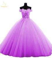 Bealegantom Red Lilac Yellow Pink Green Quinceanera Dresses 2019 Ball Gown Beaded Sweet 16 Dress Vestidos De 15 Anos QA1384