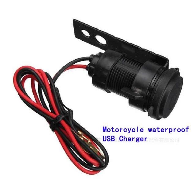 Waterproof Motorcycle Mobile Charger Motorcycle Navigation USB ...