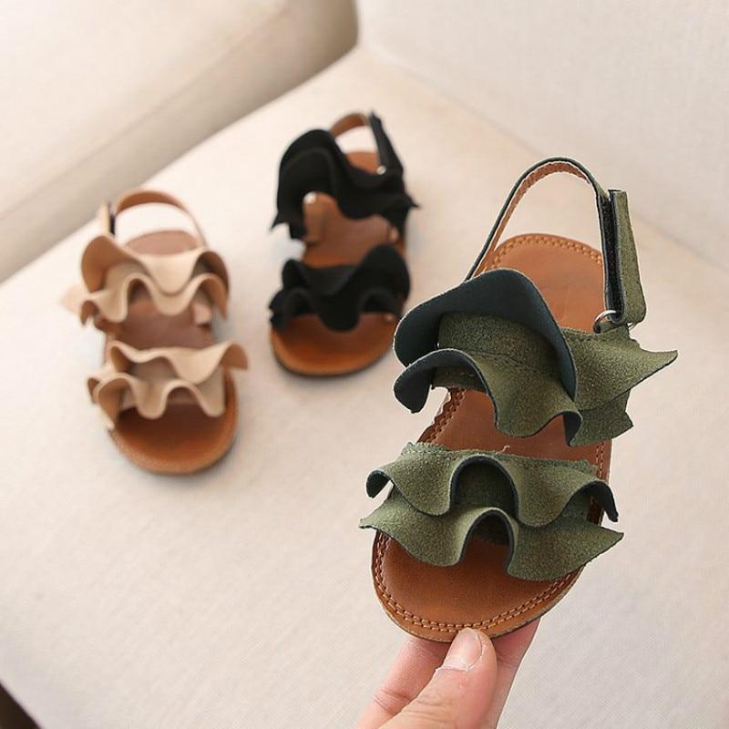 Children Girls Sandals Shoes Summer Baby Girls Toddler Sandals Princess Shoes For Kids Sandals Girls Infant Sandal Slippers