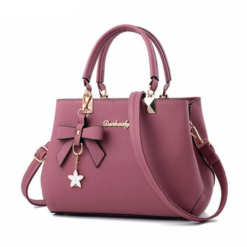 WENYUJH New 2019 New Shoulder Bag Women Designer Luxury Handbags Women Bags Plum Bow Sweet Messenger Crossbody BagWENYUJH New 2019 New Shoulder Bag Women Designer Luxury Handbags Women Bags Plum Bow Sweet Messenger Crossbody Bag