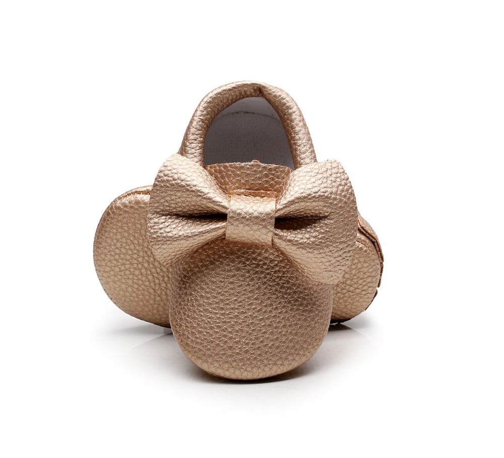 New-style-Pink-PU-Leather-Baby-Moccasins-Bow-soft-bottom-child-boys-girls-First-Walkers-fringe-infant-toddler-baby-shoes-0-24-M-3