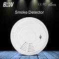BW Wi-fi Sem Fio Sistema de Segurança Home Detector de Fumaça de Alarme de Incêndio Acessório Siren para Câmera IP de Vigilância CCTV Frete Grátis