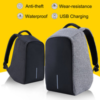 Multifunction USB Charging Waterproof Anti Thief 15 Inch Laptop Backpacks For Men Women Leisure Travel Business