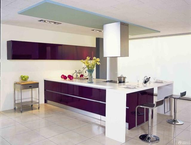 Various color modern design modular solid wood kitchen cabinet ...