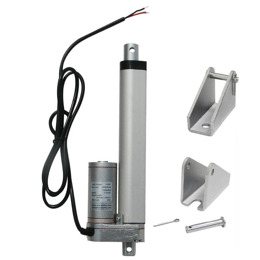 150mm 6inch Load multi-function Linear Actuator for DIY 1KW Dual Axis solar tracking Tracker