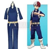 Boku No Hero Akademia Shouto Todoroki Shoto Cosplay My Hero Academia Costume Custom Made Free Shipping