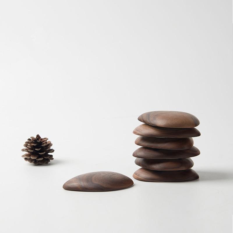 Tömör fa kreatív kulcs kapcsolódik a falra lógó erős ragasztó - Szervezés és tárolás - Fénykép 3
