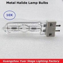 Free Shipping 10Pcs/Lot Disco Lamp Stage Light Lamp MSD 250/2 MSD250W Watts 90V MSR Bulb NSD 250W 8000K Metal halogen Lamp Bulbs