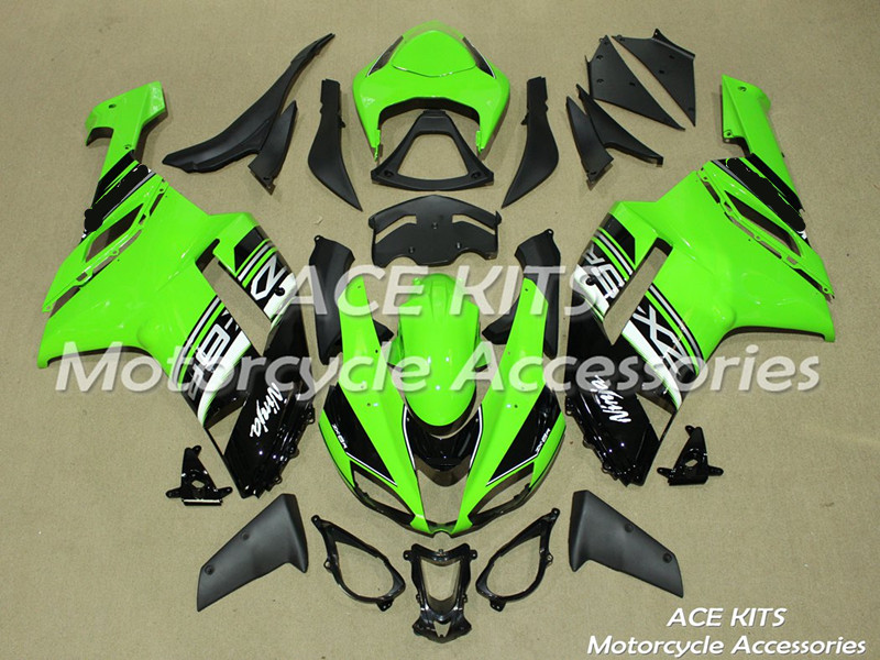 New ABS motorcycle <font><b>Fairing</b></font> For kawasaki Ninja <font><b>ZX6R</b></font> 599 636 2007 <font><b>2008</b></font> Injection Bodywor Any color All have ACE No.256 image