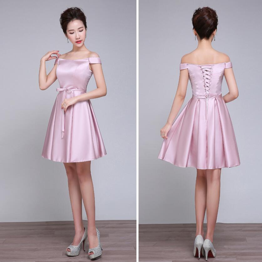 Vestido Corto Palo De Rosa Modelos De Moda De Vestidos De