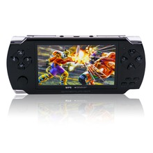 4.3 inch 8GB Handheld Game Console With Mp4 Mp5 Player/Camera Video Game Console Built In many classic games Support GBA/NES