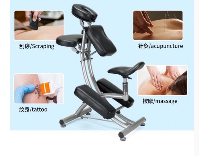Купить с кэшбэком Meiye folding refers to pressure acupuncture beauty chair tattoo bed physical therapy tattoo massage tattoo chair.