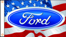 Bandera de coche, ford Banner 3ftx5ft 100% poliéster 020(China)